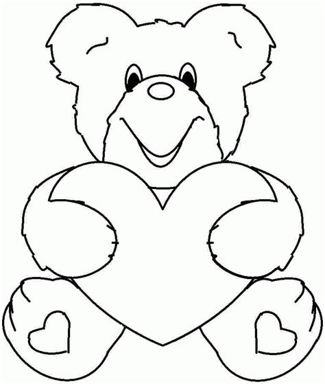 valentine coloring pages  prek coloring home