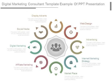 digital marketing consultant digital marketing consultant template exle of ppt