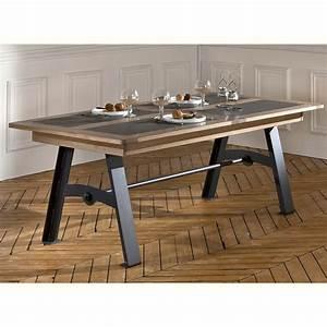 Table Mobilier De France : table deauvil style atelier meubles rigaud ~ Teatrodelosmanantiales.com Idées de Décoration