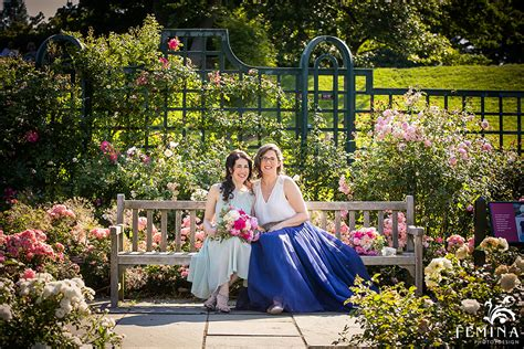 chic new york botanical garden wedding new