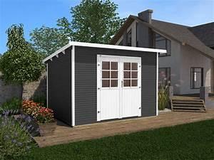 Gartenhaus Mit Flachdach : weka gartenhaus 219 gr 1 3 ~ Frokenaadalensverden.com Haus und Dekorationen