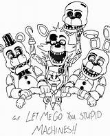 Freddy Coloring Fazbear Pages Fnaf Colouring Sheets Printable Getcolorings Getdrawings sketch template