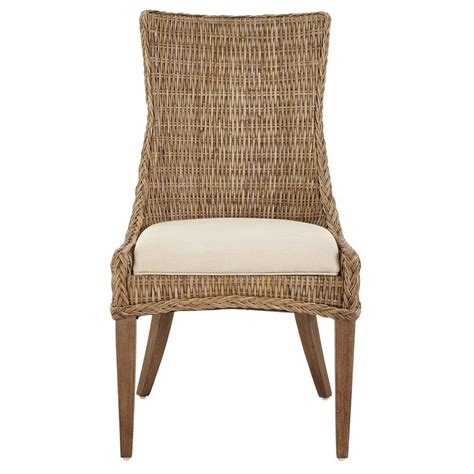 Kubu Dining Chair Cushion by Home Decorators Collection Genie Grey Kubu Wicker Dining
