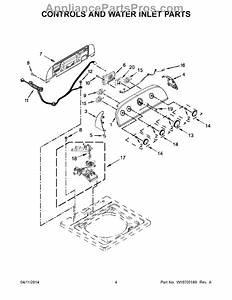 Whirlpool W10671327 Electronic Control Board