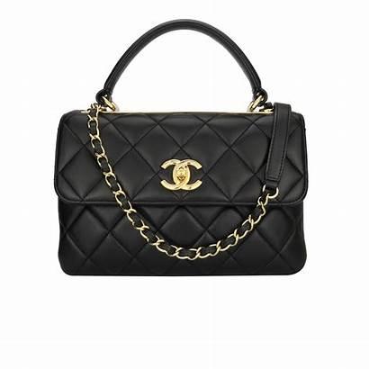 Chanel Trendy Cc Bag Hardware Lambskin Gold