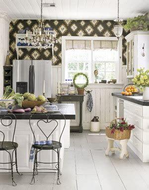 cottage kitchen wallpaper cocinas con estilo country parte i decoraci 243 n de 2662
