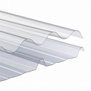 Plaque Ondulée Pour Toiture : plaques ondul es translucides pour bardage ou couverture ~ Premium-room.com Idées de Décoration