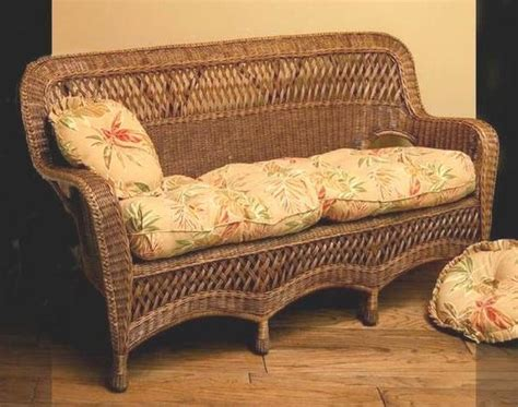 loveseat cushions indoor indoor wicker furniture sofa loveseat chairs