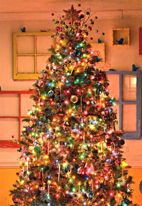 best 25 christmas tree colored lights ideas on pinterest