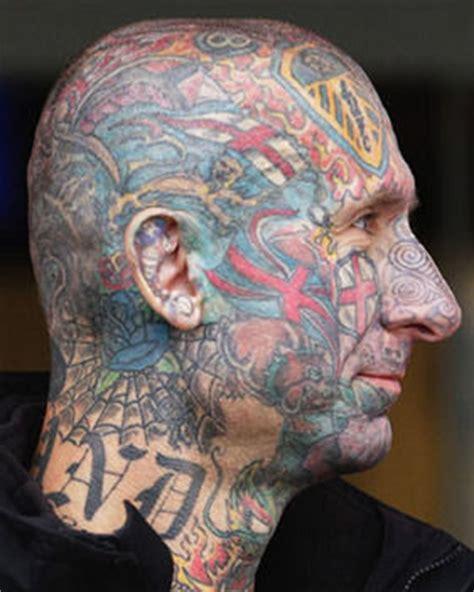 George Cross Tattoos patriotism   england fans head daily star 281 x 351 · jpeg