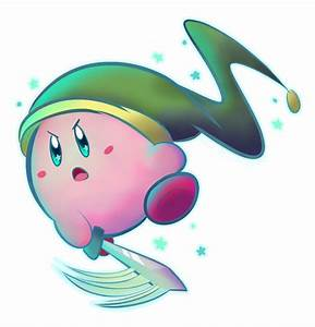 Collaboration: Sword Kirby! by p0Yo on DeviantArt