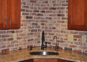 photos of vintage brick veneer - Brick Backsplashes For Kitchens