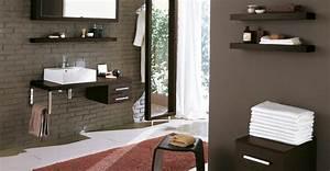 salle de bains parquet teck With salle de bain couleur chocolat