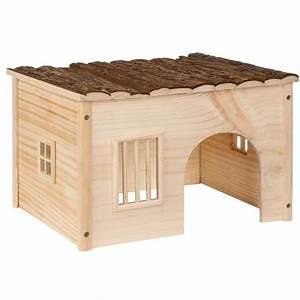 Maison Pour Lapin : abri pour lapin maison pour rongeurs en bois de pin 41 cm ~ Premium-room.com Idées de Décoration