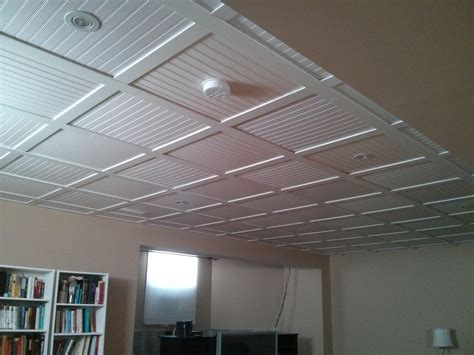 embassy suspended ceiling  beadboard ceiling tiles