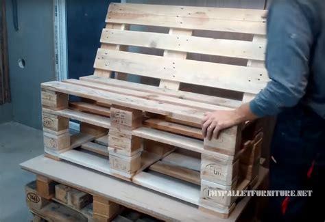 canapé avec des palettes comment faire un canapé avec des palettes meuble en