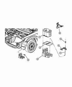 Dodge Journey Sensor  Battery  Ibs  Negative