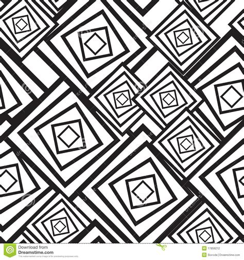black  white abstract background  squares stock