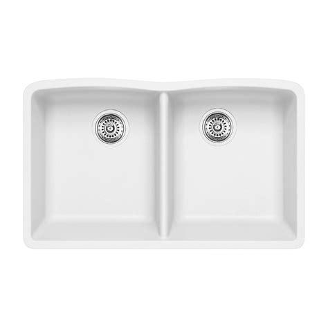 blanco silgranit sinks canada blanco sop silgranit kitchen sink lowe s canada