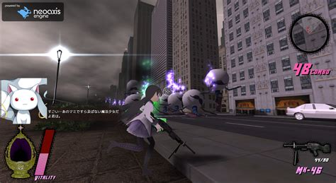anime game shooter neoaxis game engine 1 2 released neoaxis 3d engine