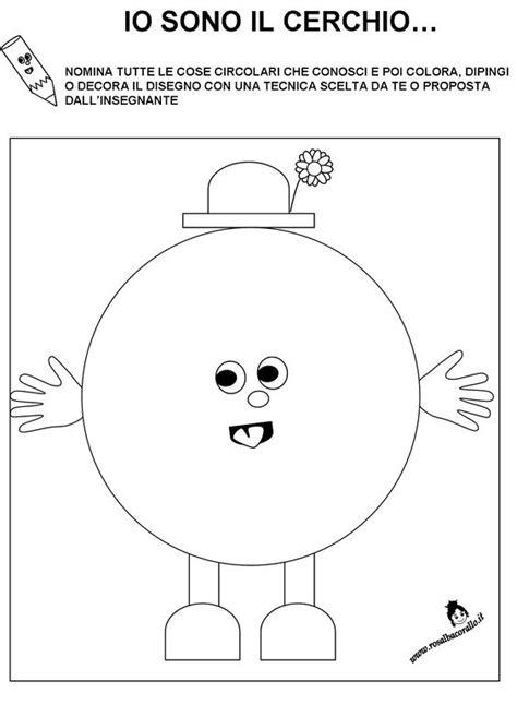 disegni per bimbi di 4 anni schede didattiche figure geometriche per bambini di 3 4