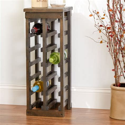 loon peak zanuck  bottle floor wine bottle rack reviews wayfair