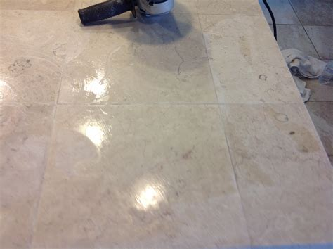 San Francisco Marble tile Countertop Polishing & Grout