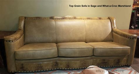 sectional sofas made in usa sage top grain leather sofa made in the usa