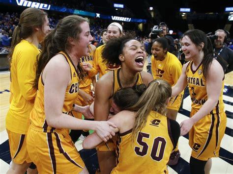 central michigan womens basketball team opens ncaa