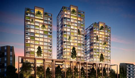 residential towers matteo thun partners