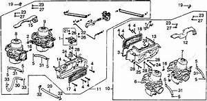 Honda Motorcycle 1978 Oem Parts Diagram For Carburetor