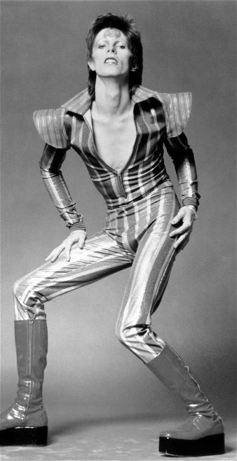 david bowies iconic style