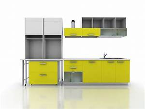 yellow kitchen cabinet design 3d model 3dsmax files free With what kind of paint to use on kitchen cabinets for sticker paper transparent