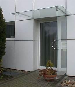 Windfang Hauseingang Aus Glas : vordach und seitlicher regenschutz aus sicherheits glas und edelstahl ~ Markanthonyermac.com Haus und Dekorationen