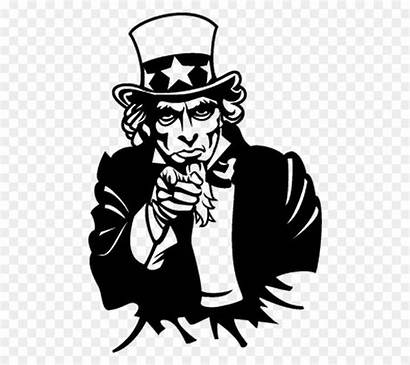 Uncle Sam Clipart Hair Silhouette Clipground Cliparts