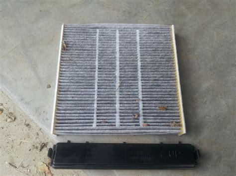 diy cabin air filter replacement cleaning unofficial honda fit