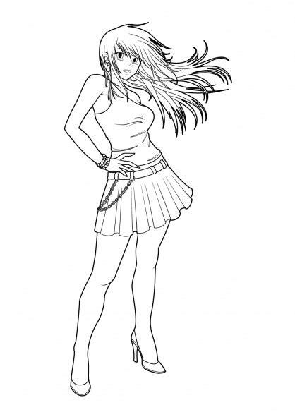 Pour plus de détails, voir fiche technique et distribution nicky larson et le parfum de cupidon est un film de comédie policière français coécrit et réalisé par philippe lacheau , sorti en 2018. Coloriage Fille Manga Chibi dessin gratuit à imprimer