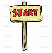 image - Start sign whi...