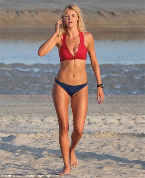 Kelly Rohrbach showcases her pert derriere in Baywatch ...