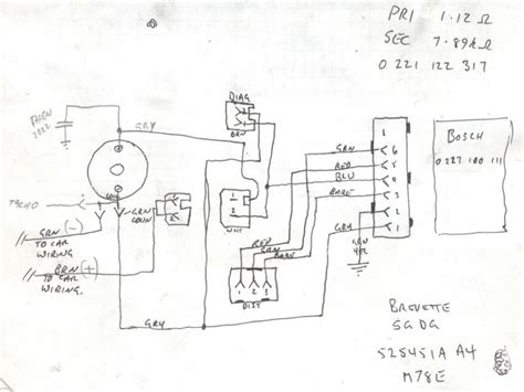 bosch electronic ignition wiring diagram wiring