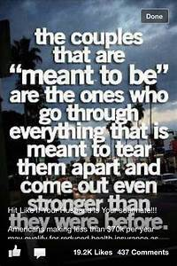 Meant to be together | Quotes | Pinterest