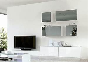 contemporary high gloss unico wall storage system in With kitchen colors with white cabinets with movie theater wall art