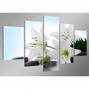 Tableau Fleurs Moderne : tableau moderne imprim 160 x 80 cm fleurs achat ~ Teatrodelosmanantiales.com Idées de Décoration