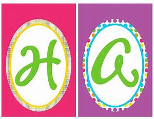 7 best images of happy birthday letters printable happy With happy birthday letter banner