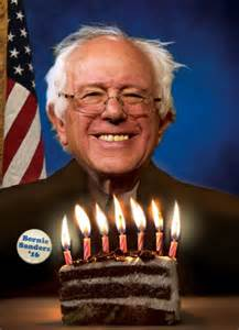 Bernie Sanders Funny Birthday Meme