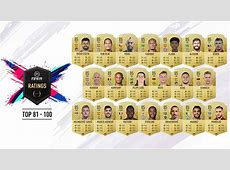 FIFA 19 ratings EA Sports reveal top 100 players – and
