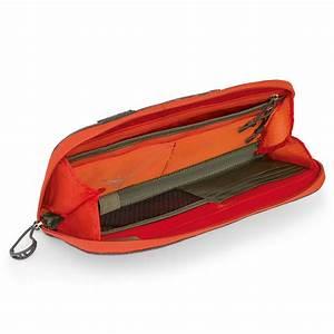 osprey rfid document wallet poppy orange travel organiser With rfid travel document wallet