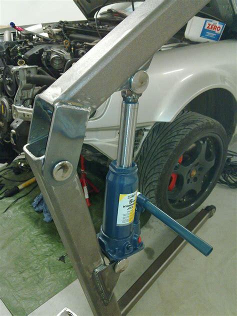 How To Build A Boat Engine Hoist by Diy Engine Hoist Plans Diy Do It Your Self