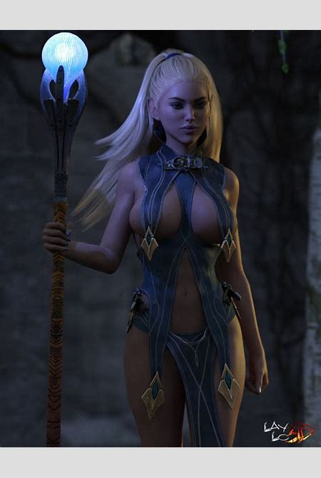 The Elf Mage Pic 01 by LayLo3D on DeviantArt
