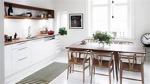 Decoration cuisine scandinave for Idee deco cuisine avec deco cuisine scandinave